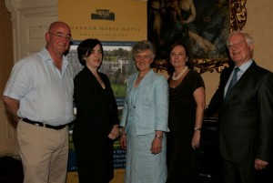 Deirdre, Mary & Austin Crowe Proprietors with Brian Murray Aspects of Ireland and Roisin Wallace CMV.